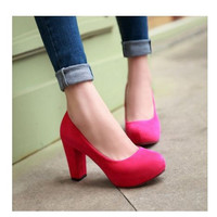 Women's Pumps Sexy High Heel Shoes Platform Available in 5 Colors