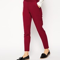 ASOS Skinny Pants with Zip Detail