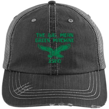 1980 Philadelphia Eagles Inspired Distressed Unstructured Trucker Cap