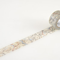 Masking Tape - mt ex, Map, 25mm x 10m