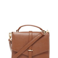 Faux Leather Crossbody Satchel | Forever 21 - 1000171676