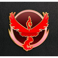 Team Valor Pin for Backpacks Pokemon Go Leadership Lapel Clothes Pins