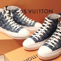 Louis Vuitton Lv Stellar Sneaker Boot #2236