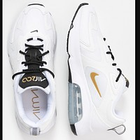 NIKE AIR MAX 200 Women Men Trending White Baskets basses B