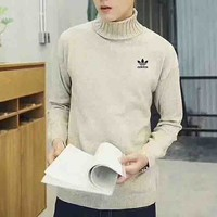 Adidas Originals Winter Hedging Chunky Knit High Neck Long Sleeve Sweater G-MLDWX