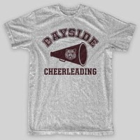 ONETOW BAYSIDE CHEERLEADING Tigers Saved By The Bell Zack Morris VINTAGE LOOK T-Shirt Loose Cotton T-Shirts For Men Cool Tops T Shirts