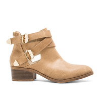Seychelles Scoundrel Bootie in Taupe