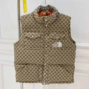 GUCCI New autumn and winter co branded jacquard vest for men and women