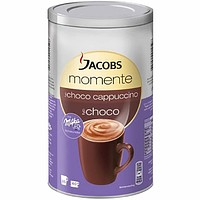 Jacobs Moments Cappuccino with Milka Chocolate, 17.6 oz (500 g)