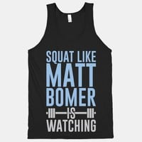 Squat Like Matt Bomer Is Watching