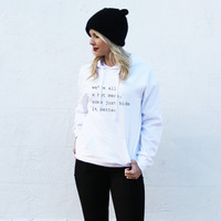 We're All a Hot Mess Hoodie