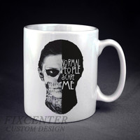 Normal People scare me crewneck American Horror Story Personalized Mug/Cup