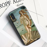 The Birth of Venus Painting Phone Case For Apple IPhone X 8Plus 8 7Plus 7 6SPlus 6s 6Plus 6 Se 5s 5 Soft Silicone Cover Shell