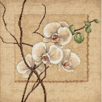 Dimensions Needlecrafts Counted Cross Stitch, Oriental Orchids $18.93