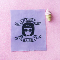 Bang Gang- Handmade Sew-on Patches