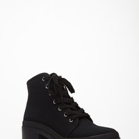 Canvas Lace-Up High Tops