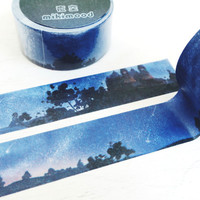 Midnight Sky washi masking tape mt
