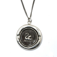 Once Upon a Time Character Emma Swan Wears a Pyrrha Talisman Necklace That's True to Her Name.