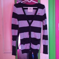🌞2 for $20🌞 Striped Hollister sweater