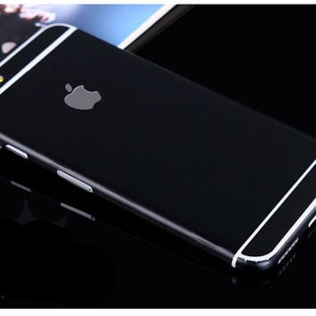 Black Decal Skin Set for the Apple iPhone 6 6s 6 Plus Korea