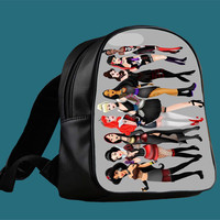 All princess punk collage for Backpack / Custom Bag / School Bag / Children Bag / Custom School Bag *