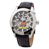 Disney Parks Mickey Mouse Clockwork Watch for Men New