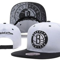 Perfect Brooklyn Nets NBA hats Women Men Embroidery Sports Sun Hat Baseball Cap Hat