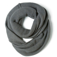Infinity Party Scarf in Charcoal | Mod Retro Vintage Scarves | ModCloth.com