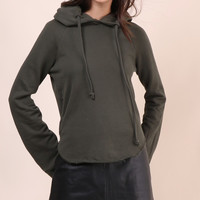 Brooklyn Karma Out From Under Hoodie - Olive