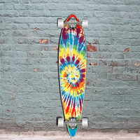 Tiedye Original Pintail Longboard 40 inch from Punked
