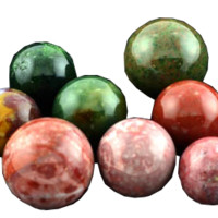 """Jasper Marble about 1/2"""" dia"""