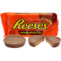 Reese's Peanut Butter Cups Candy Packs: 36-Piece Box
