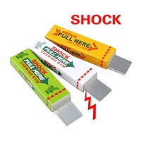 Electric Shock Joke Chewing Gum Pull Head Shocking Toy Gift Gadget Prank Trick Gag Funny