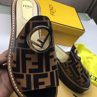 Fendi Women Men Casual Shoes Boots fashionable casual leather Women Heels Sandal Shoes