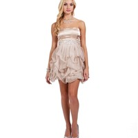 Verlie-Brown Homecoming Dress