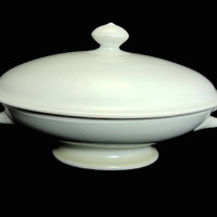 Antique Ironstone Oval Covered Dish Tureen T R Boote c1870