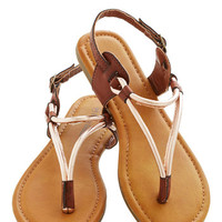 ModCloth Stop at the Summit Sandal