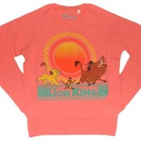 Disney Lion King Junior/Women's Sweatshirt