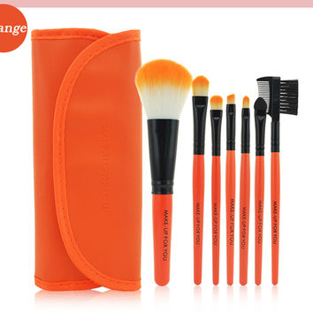 Professional 7PCS Makeup Brushes Set Tools