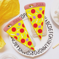 Pink Pizza Phone Case For Apple Phone iPhone6 6s Plus