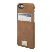 Hex: Solo Wallet For iPhone 6 - Brown Leather (HX1751-BRWN)