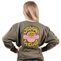 Bloom Sunflower - SS - F20 - YOUTH Long Sleeve