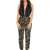 Naked Wardrobe Cool, Calm, & Camouflage Joggers