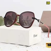 Dior Woman Fashion Summer Sun Shades Eyeglasses Glasses Sunglasses 3#