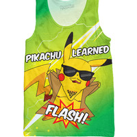 Pikachu Learned Flash Tank Top
