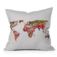 Bianca Green Its Your World Throw Pillow