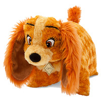 Disney Parks Pillow Pet Pal Plush Doll Lady and the Tramp