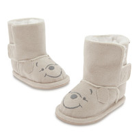 Winnie the Pooh Sherpa Boots for Baby