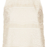Eyelash Lace Shell Top - New In This Week - New In - Topshop USA