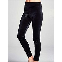 Velvet Vixen Leggings | Black